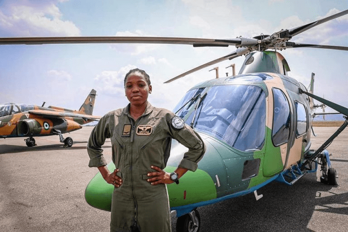 First Ever Female Helicopter pilot,Tolulope Arotile Dies From Accident Injuries As Nigeria Airforce Mourns